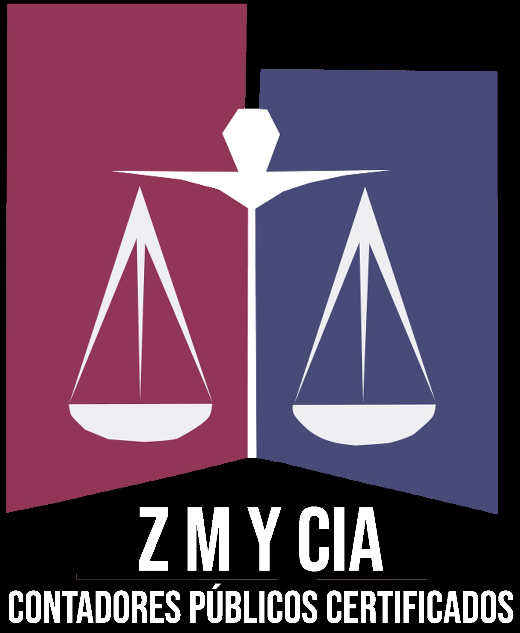 Logotipo Zavala Meneses y Compañia s en nc